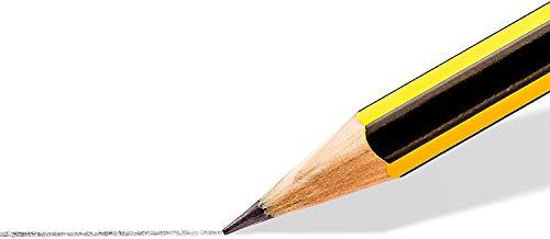 Takestop - Lápices HB de 3,3 mm, juego de 12 unidades, con goma para dibujo de escuela, oficina, alta calidad y resistencia