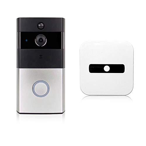 WiFi Video Inalámbrico Walkie-Talkie, Detección De Movimiento, Audio De 2 Canales, Visión Nocturna, IP65 A Prueba De Agua, Audio De Dos Vías, Aplicación Control De Aplicaciones IOS Android (excluyendo