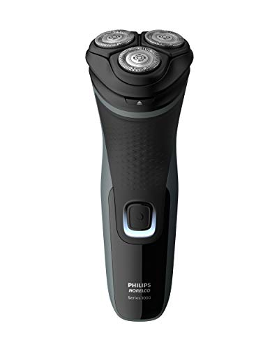 Norelco Shaver 2300 Rechargeable Electric Shaver with PopUp Trimmer S1211/81, Black, 1 Count