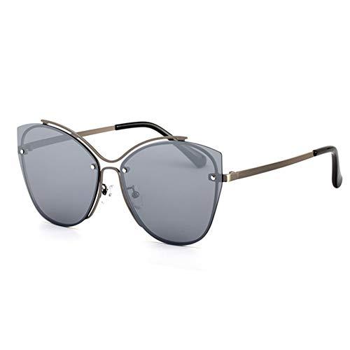 Bradoner Gafas de sol polarizadas UV400 HD de moda para conducción, conducción al aire libre (color gris)