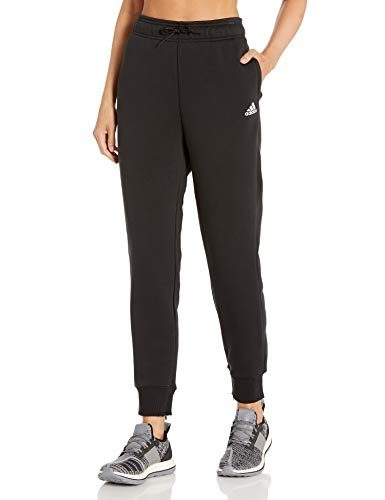 adidas Stacked Logo Fleece Pantalones, Negro, XX-Large para Mujer
