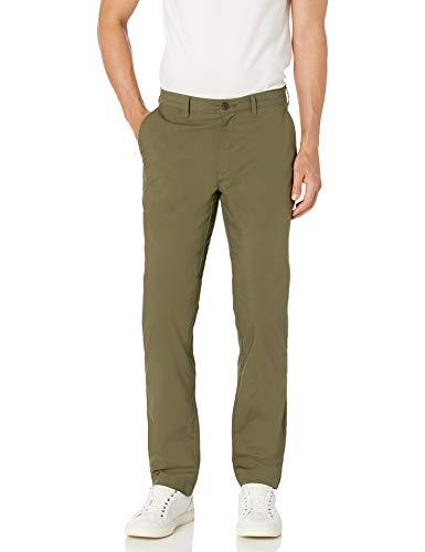 Amazon Essentials Straight-fit Lightweight Stretch Pants, olivgrün, 38W x 30L