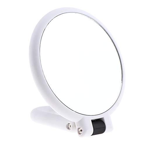 SDENSHI Poignée Pliable De Bureau De Miroir Cosmétique De Maquillage Grossissant De Double Côté Portatif - # 7Double face