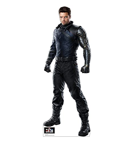 Advanced Graphics Winter Soldier Life Size Cardboard Cutout Standup - Marvel's The Falcon and The Winter Soldier