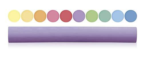 Milan Multi Coloured Anti-Dust Round Chalks for Boards | Chalk for Slate | Art & Craft Chalks for Kids (Pack of 1-10pcs)
