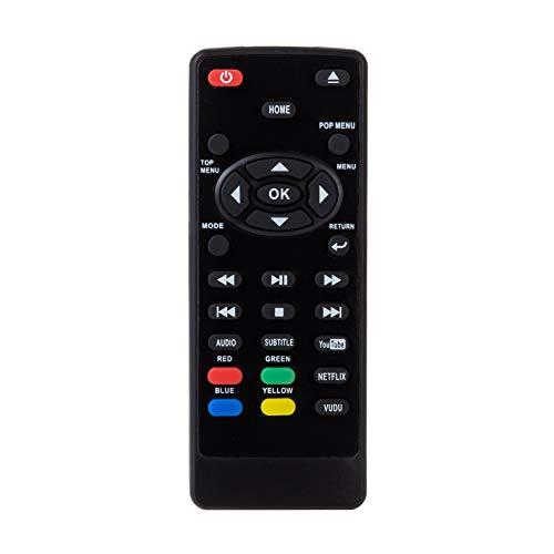 Remote Control for Sanyo NC453UL Blu Ray Player FWBP706F FWBP706FA FWBP706FC with YouTube Netflix Vudu Keys