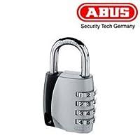 ABUS ナンバー可変 南京錠 155 40サイズ ダイヤル式 4桁 暗証番号 スタイリッシュなデザイン カバン 下駄箱 ロッカー おすすめ アバス 155/40