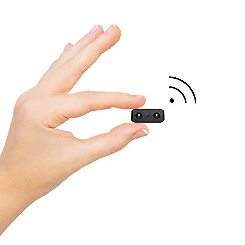 Spy Camera Hidden WiFi Cameras, HD Smallest Mini Security Camera with Phone App for Home Indoor Tiny Portable Secret Nanny Cam with Auto Night Vision/Motion Detection Alerts