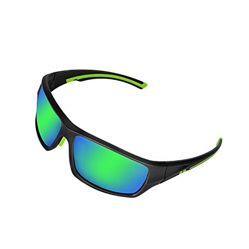 DUIDY Polarized Sports Sunglasses for Men Women Cycling Running Fishing Golf Baseball Softball Tennis ,UV Protection