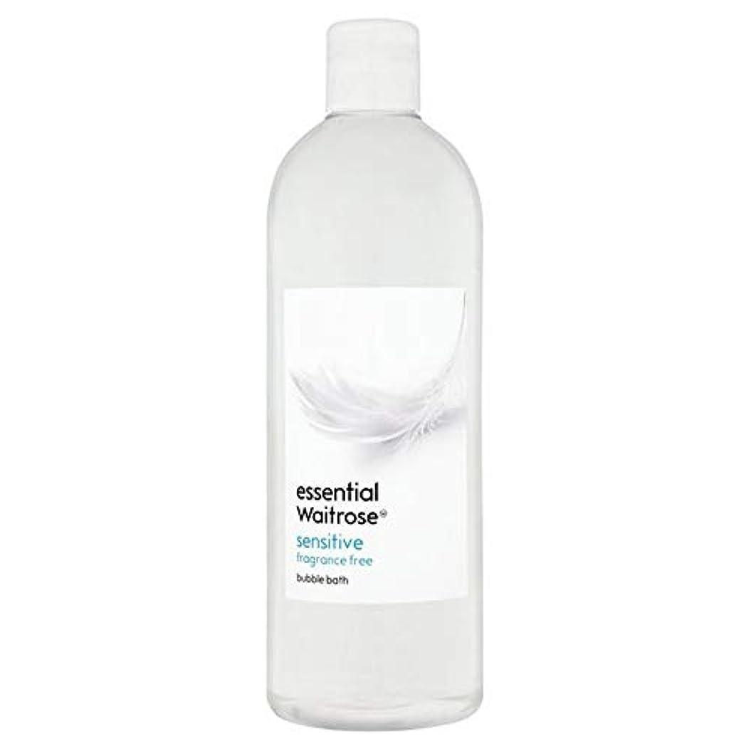 行商人スポンサー動力学[Waitrose ] 基本的なウェイトローズ泡風呂に敏感な750ミリリットル - Essential Waitrose Bubble Bath Sensitive 750ml [並行輸入品]