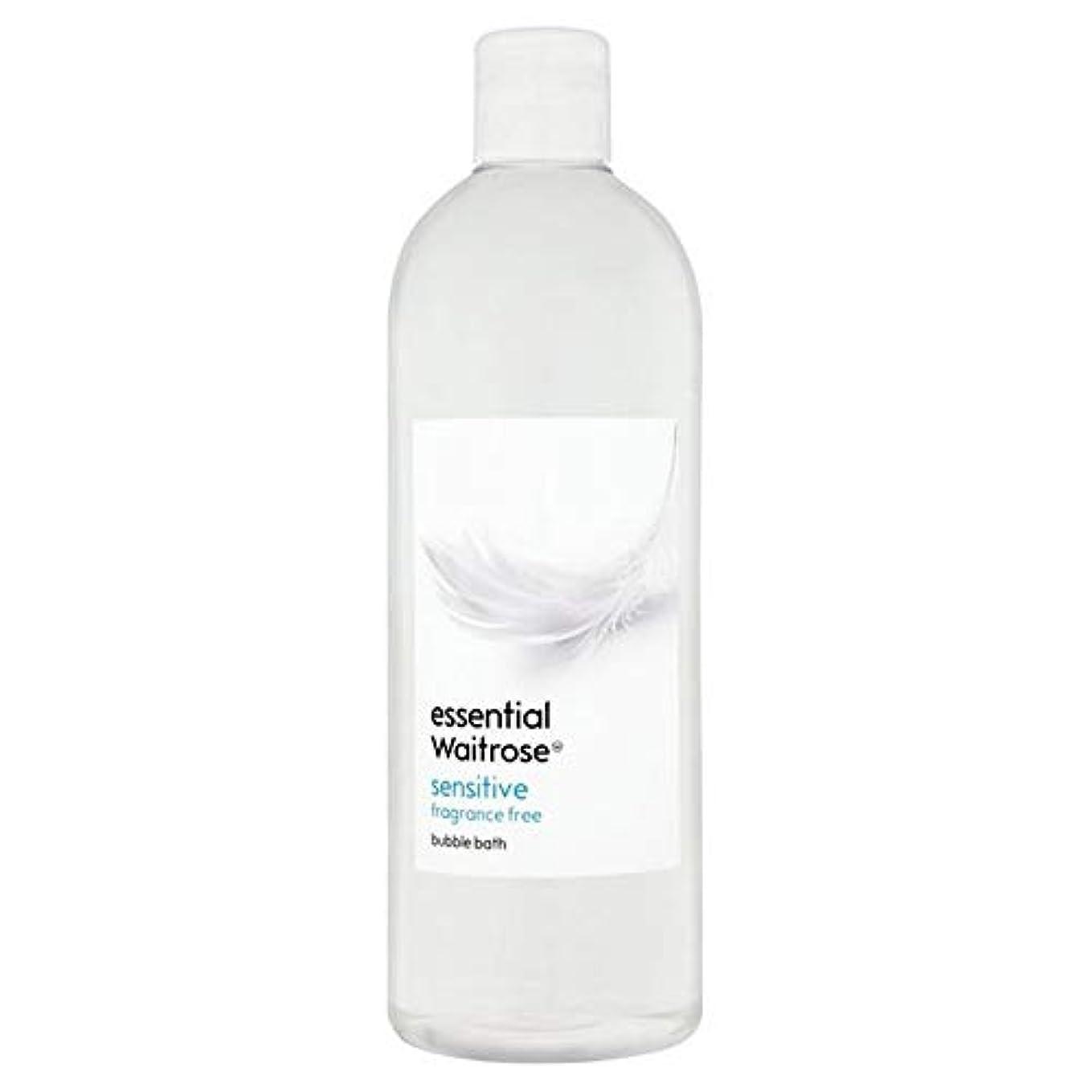 展示会マート手紙を書く[Waitrose ] 基本的なウェイトローズ泡風呂に敏感な750ミリリットル - Essential Waitrose Bubble Bath Sensitive 750ml [並行輸入品]