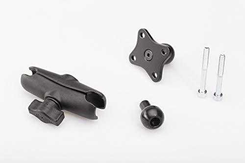 Navi-Halter für M8-Gewinde, 1 Zoll Kugel mit M8-Schraube, RAM Klemmarm, Navi-Aufnahme