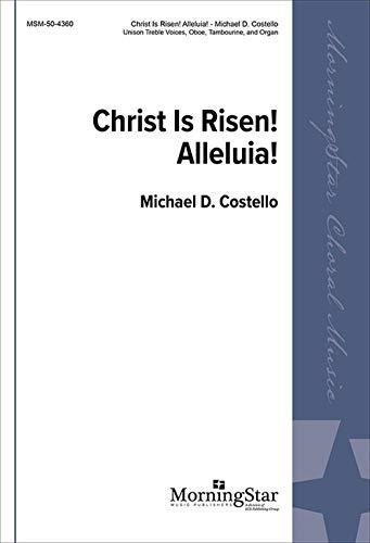 Christ Is Risen! Alleluia! - Unison Voices, Organ, Oboe, Tambourine Clarinet in B-flat - Stimme