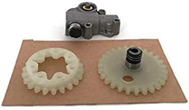 ITACO for STIHL 038 MS380 MS381 Oil Pump Assy with Worm Spur Gear (3pcs Kit) 1119 640 3200 Chainsaw