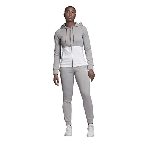 adidas Damen Linear Trainingsanzug grau M