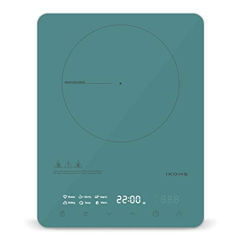 IKOHS Pro-PIRAX - Placa vitrocerámica de inducción (Verde)