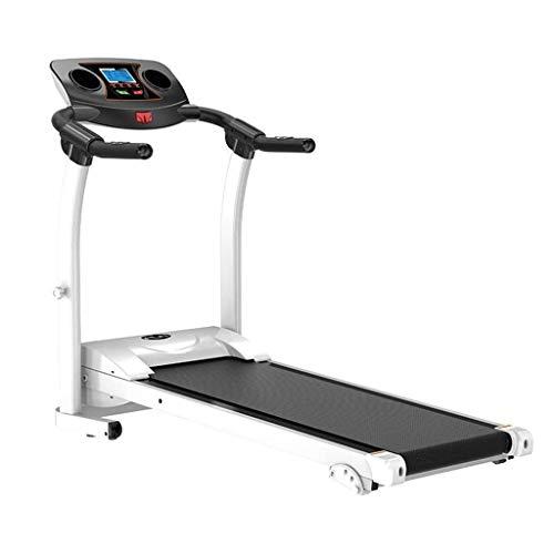 Treadmill CHHCYH Cinta de Correr Plegable Salud y Bienestar con Soporte de Dispositivos, absorción de Impactos y la Pendiente