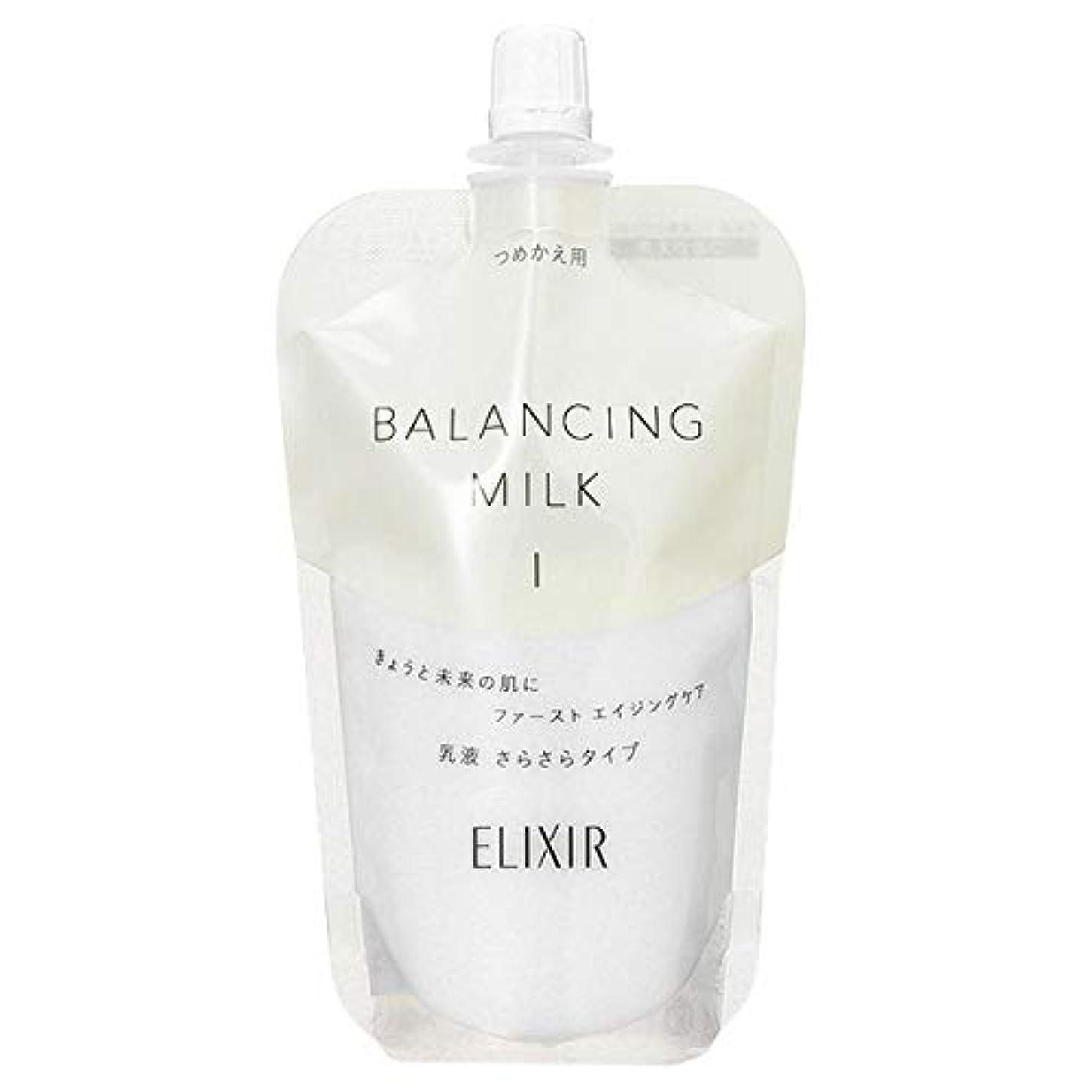 ソース謝罪邪魔するシセイドウ 資生堂 エリクシール ルフレ バランシング ミルク (つめかえ用) 110mL II とろとろタイプ (在庫) [並行輸入品]