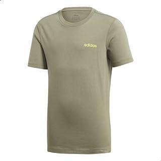adidas Essentials Logo Print Round Neck Cotton T-shirt for Kids