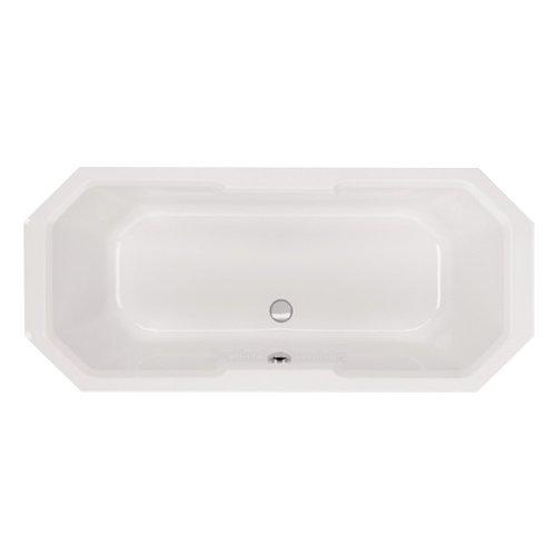 Badewanne Chile weiß Achteck Achteckform Wanne Acryl 1750/800/410 mm