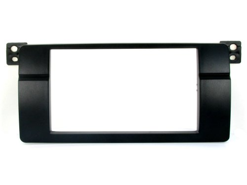 BMW E46 3 Series Double Din Radio Stereo Installation dash kit Bezel 97 98 99 00 01 02 03 04 05