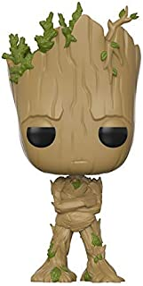 Funko Pop! Movies: Guardians of The Galaxy Vol. 2 - Adolescent Groot Amazon Exclusive Action Figure (Renewed)