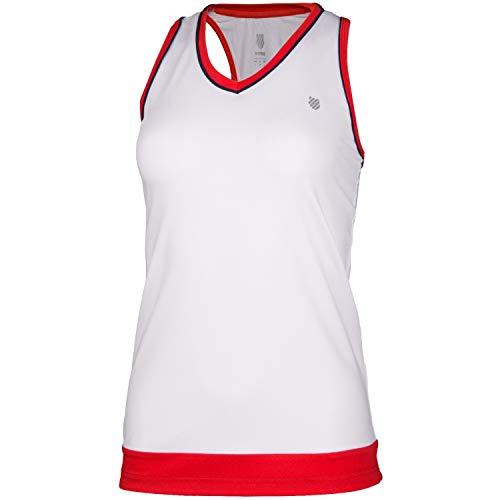 K-Swiss KS TAC Heritage Classic Camiseta de Tenis, Mujer,...