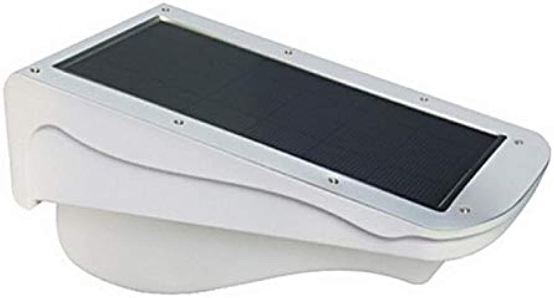 Waterproof Led Solar Pir Motion Sensor Led Staircase Outdoor Garden Path Wall Lamp (Weiß)