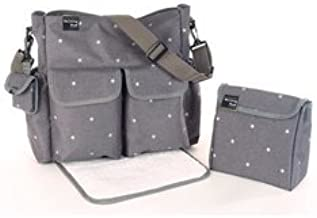 Walking Mum Gaby Winter - Bolsa canastilla, color gris