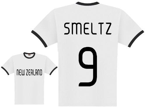 World of Football Player Shirt Neuseeland Smeltz - XXL