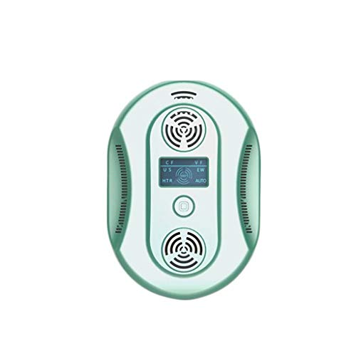 Y & Z Insectifuge électronique Portable Pet Safe Device-Repels Away Anti Moths, Fleas, Bed Bugs, Mosquito, Mice, Wasp Green