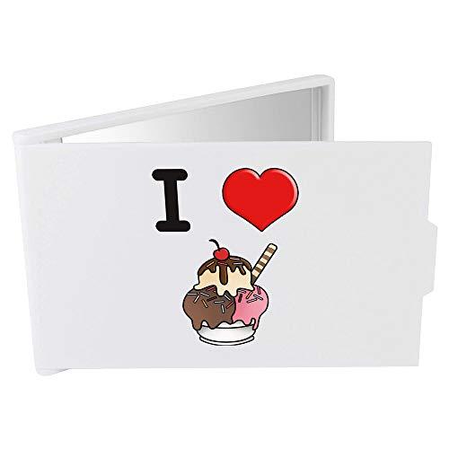 Azeeda 'I Love Ice Cream' Miroir Compact / de Poche (CM00000009)