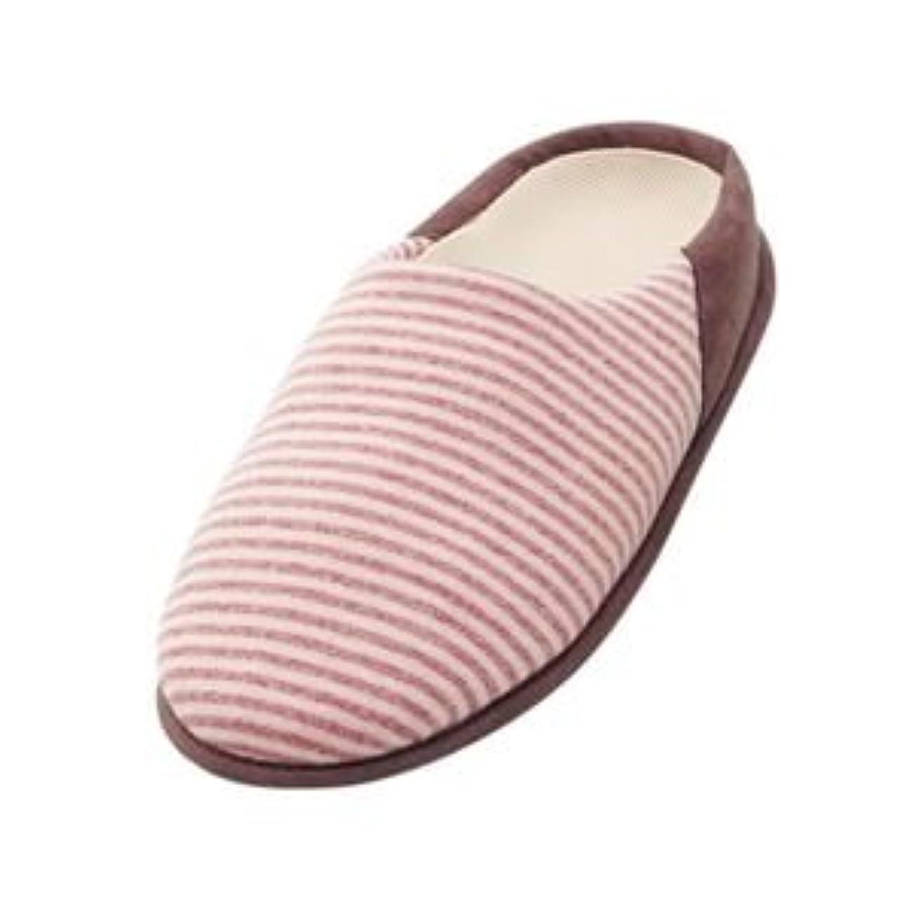 品アンソロジーレンダー介護靴 室内用 チャルパー 2223 両足 徳武産業 あゆみシリーズ /LL(25.0~26.0cm) ピンク