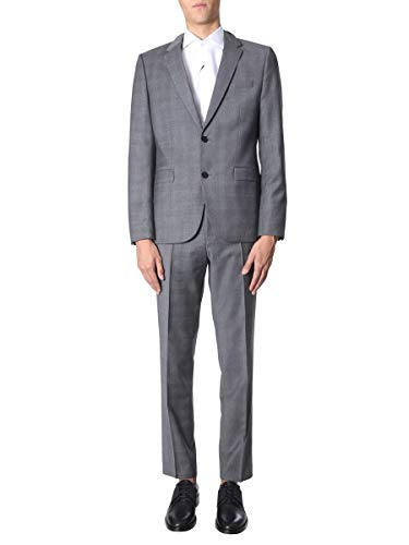 Hugo Boss Luxury Fashion Herren 5041056110217879034 Grau Elastan Anzuge   Herbst Winter 19