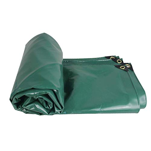 Lonas impermeables exterior Lona Cubierta protectora de protección solar a prueba de agua, a prueba de lluvia, ignífuga, ignífuga, de lona SLL41 (Color : Green, Size : 2X3M)