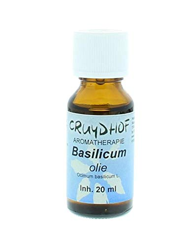 Cruydhof Basilicum Olie Vietnam, 20 ml