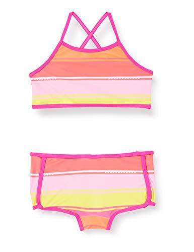 Lego Wear Mädchen Lwandrea Uv Bikini Lsf 50 Plus Badebekleidungsset, Mehrfarbig (Dark Pink 474), (Herstellergröße:104)