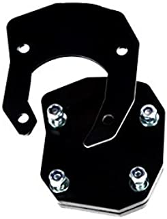 Yamaha XT660Z Tenere side stand extension plate