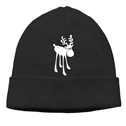 Elk - Gorro Holgado De Invierno para Hombre/Mujer Gorro Beanie,Gorros De Punto,Slouch Beanie Sombrero,Hip-Hop Sombreros,Beanie Gorro De Invierno