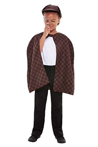 Smiffy's Smiffys Detective Kit, color marrón SMF47727CON
