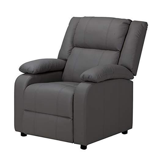 T-ara Suave y Confortable Sofá Exclusivo de Cuero de la PU Caqui diseño de Moda