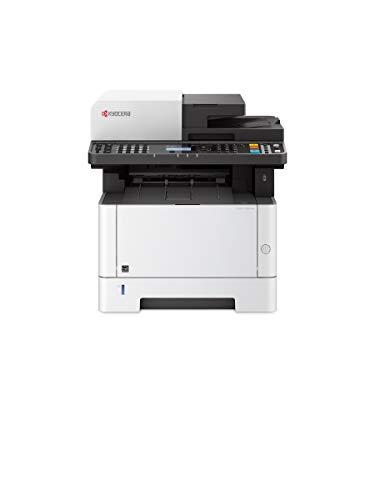 Kyocera Klimaschutz-System Ecosys M2635dn/KL3 4-in-1 Multifunktionsdrucker. 3 Jahre Kyocera Life vor Ort Service. Schwarz-Weiß, Duplex-Einheit, 35 Seiten pro Minute mit Mobile-Print-Funktion