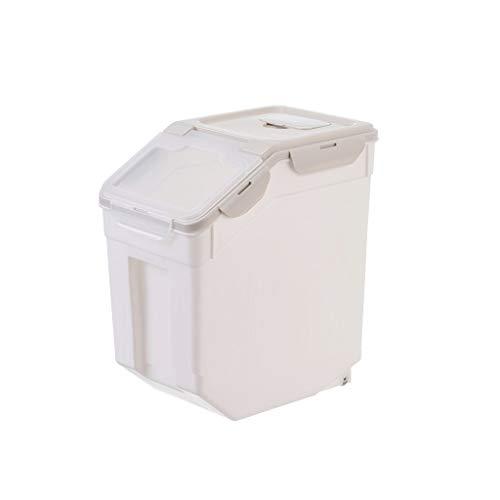 XYZMDJ Tanque de Almacenamiento de arroz de arroz de Hogares Caja de Almacenamiento de Gran Capacidad de Sellado de contenedores de Granos de harina de arroz Cocina Stora