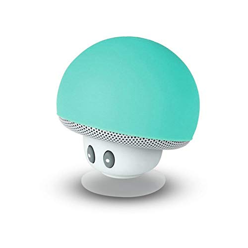Enceinte Bluetooth Waterproof Champignon Mob   Son Puissant   Multifonction   Se Ventouse Partout   Idée Cadeau