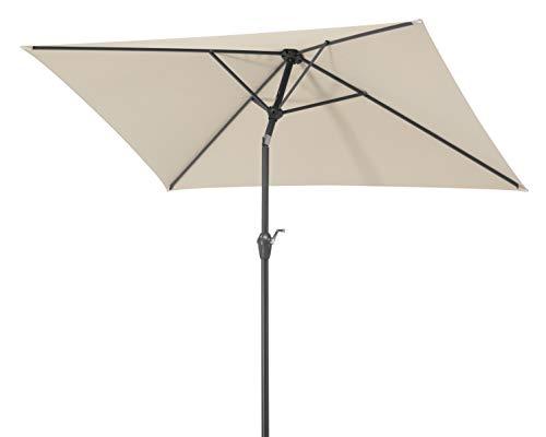 Schneider-Schirme Bilbao 210 x 130 cm Sonnenschirme, natur