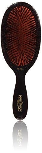Mason Pearson B1 - Cepillo de pelo (cerdas de jabalí, tamaño extragrande), color rubí oscuro