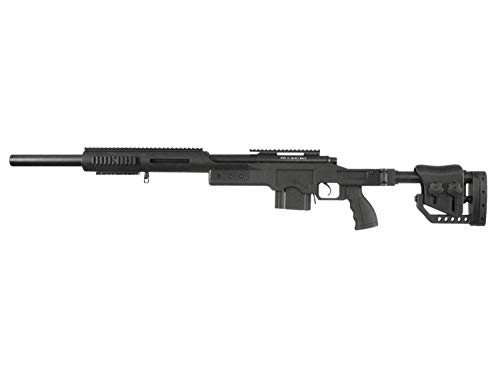 Well MB4410 A Airsoft/Softair Sniper Rifle inkl. Sling & Speedloader Downgrade Edition< 0,5 J.