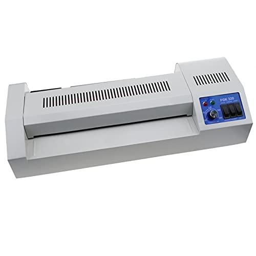 PrimeMatik - Plastificadora térmica A3 Laminadora de documentos en caliente y frío 620W