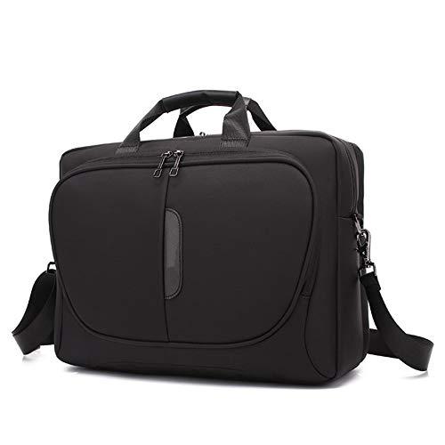 CoolBell Multicompartment Laptop Shoulder Bag for 15-15.6' Laptop with Strap Messenger Bag Business Sleeve Briefcase (Black)