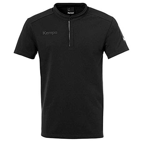 Kempa Herren Status Polo Handballspiel T-Shirt, Negro, XXL